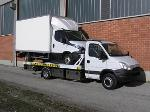 Carro attrezzi IVECO DAILY 70C17 pianale e forca gru