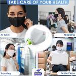 Reusable Face Mask: 3 layer COVID cloth FDA cotton OEM ODM