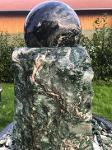 Atlantis Ball Fountain Green Velvet