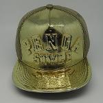 Golden Snapback Cap