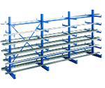 K 1000 cantilever racking, 2000x5000x2x500 mm shelv