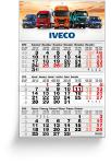 3 Months calendars