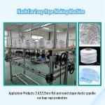 Elastic Spandex Rope Knitting Machine