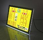 Counter Backlit Illuminated Poster Frames Display
