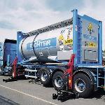 Dispositivo di deposito di container 32 t