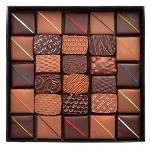 Boite Écrin Chocolats Lait-noir 240 G