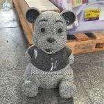 Granite Animal Carving Garden Decoration Panda Carving