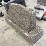 High Quality Wholesale Granite Slant Monuments Flat Markers