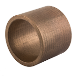 Sintered bronze sliding bearing