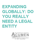 Expanding globally: do you really need