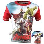 12x T-shirts Avengers du 2 au 8 ans