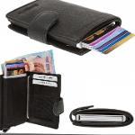 portefeuille de carte de crédit RFID