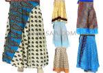 long silk skirt multi layer skirt indian vintage skirt