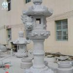 High Quality Outdoor Granite Stone Lantern