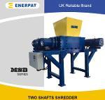 Two Shaft Metal Drum Shredder Crushing Machine with CE