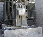 Bacs de rétention anti-feu pour transformateurs électriques