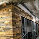 Patchwork barn wood