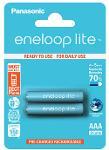 Batterie ministilo ricaricabili Eneloop Lite 2pz
