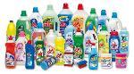 Productos de limpieza domésticos