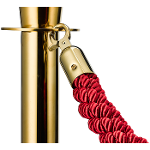 Cord Rope Gold-red