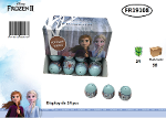 Display petit œuf surprise - Frozen2