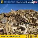 Economy Wood Pallet Single Shaft Shredder