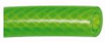 PVC braided hose neon green, Hose 20x13, Roll of 50 m