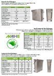 NAHE Aluminium Heat Exchangers for condensing boilers