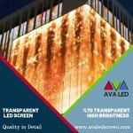 Painel Led Transparente