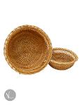 Hand Woven Round Rattan Basket