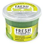 Mint and Lime solid body scrub massaging