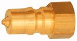 Closing nipple locking on both sides, Brass, G 3/4 IT,...