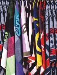 YARNDYED JACQUARD VELOUR TOWELS