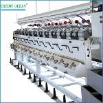 High speed soft cone yarn winding machine