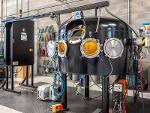 Vacuum welding chambers