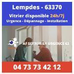 Vitrier sur Lempdes – 24h/24 et 7j/7
