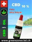 Estratto di olio di canapa CBD 10%