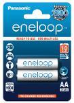 Batterie stilo ricaricabili Eneloop 2 pz