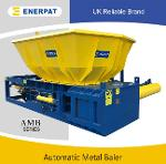 Waste metal can baling press machine with CE