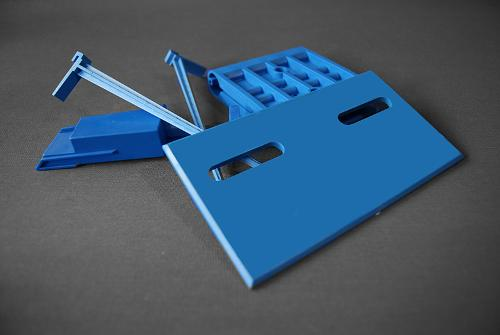 Injection molding of plastics