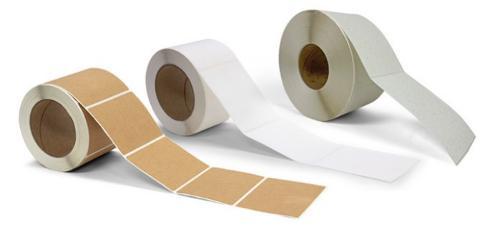 Étiquettes vierges pour imprimantes à base toner