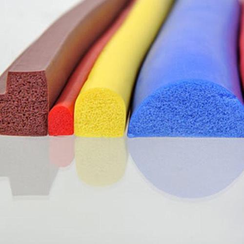 Silicone Sponge Extruded Profiles