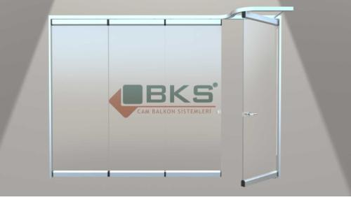 BKS MOVABLE GLASS WALLS WITH PARKING