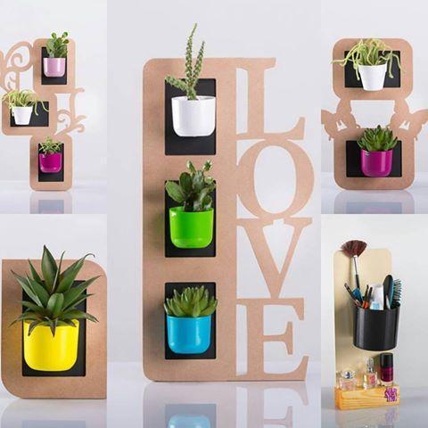 Magnetika flower pots