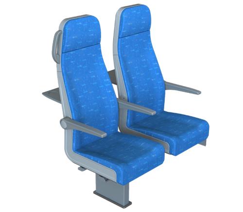 Passenger seat New Style 3rd class
