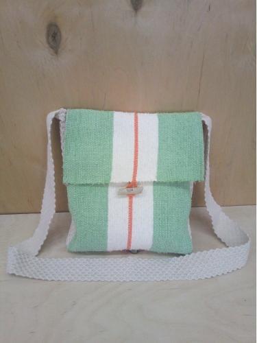 Handwoven cross-body bag!
