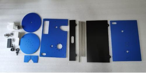 cnc aluminium electric equipment parts