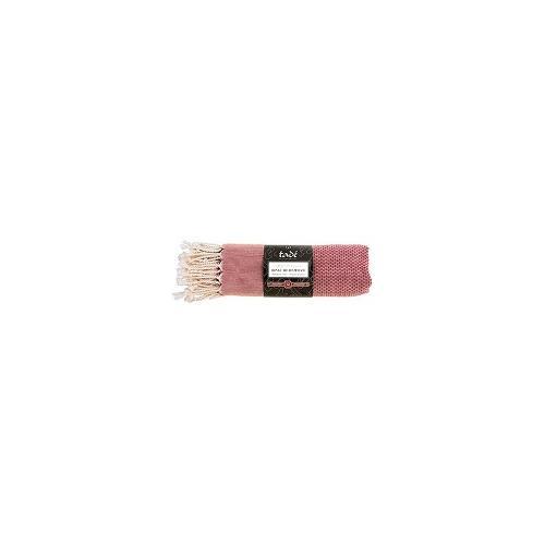 Linge De Hammam Rose - Coton Certifié Bio