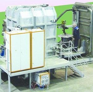 Установка для сварки в контролируемой среде модели УСКС-27