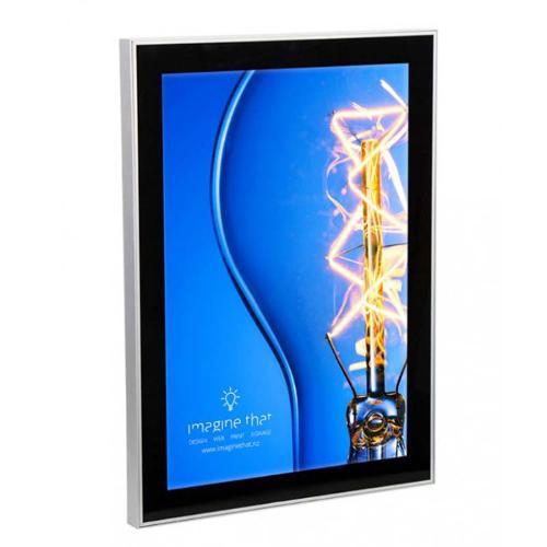MAGNETISCHE LED-POSTERLIJST Verlichte LED verlichting